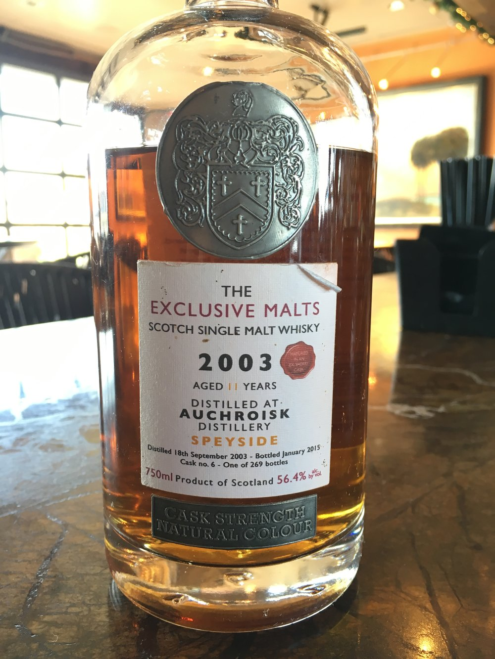 11 Year Old | 56.4% ABV - Distillery | Auchroisk