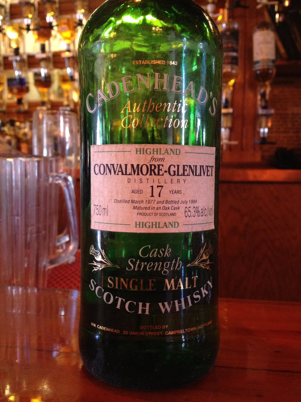 17 Year Old | 65.3% ABV - Distillery | Convalmore