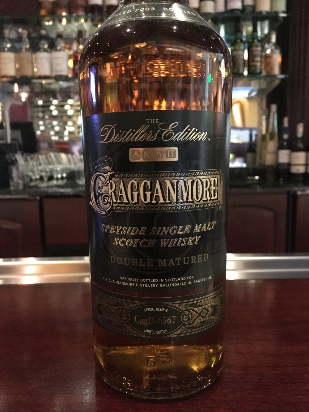 12 Year Old | 40% ABV - Distillery | Cragganmore