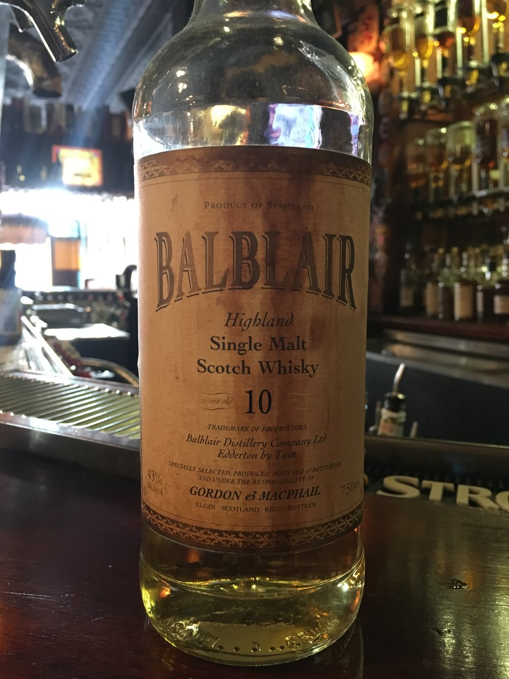 10 Year Old | 43% ABV - Distillery | Balblair
