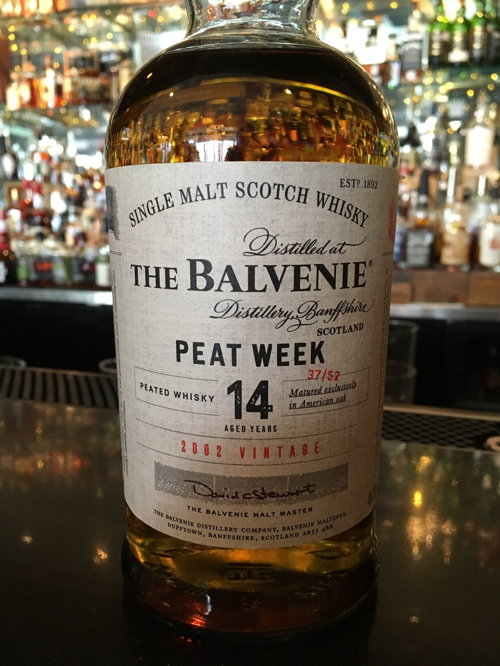 14 Year Old | 48.3% ABV - Distillery | Balvenie