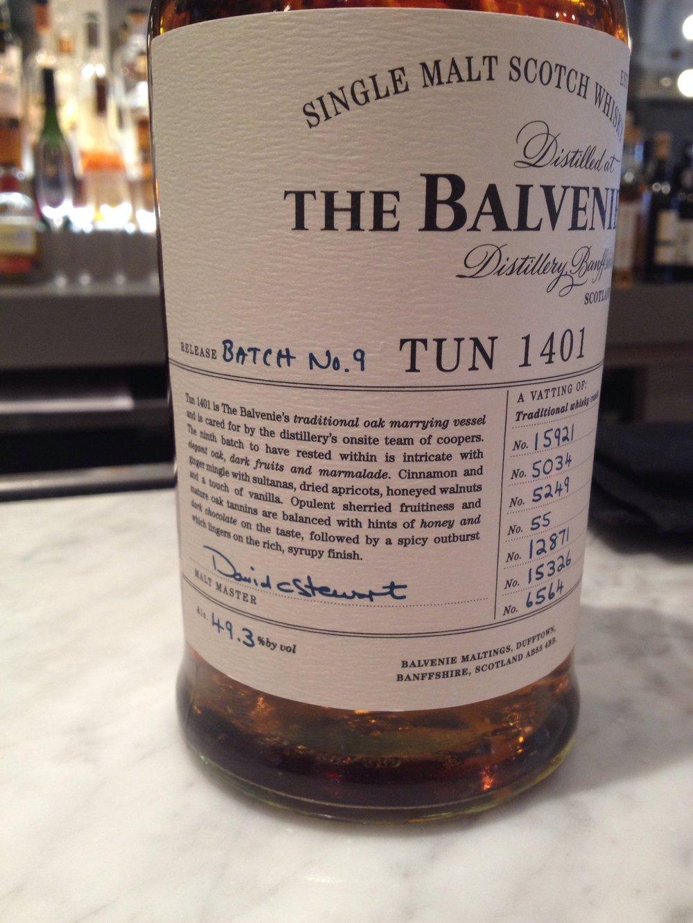 NAS   49.3% ABV - Distillery   Balvenie