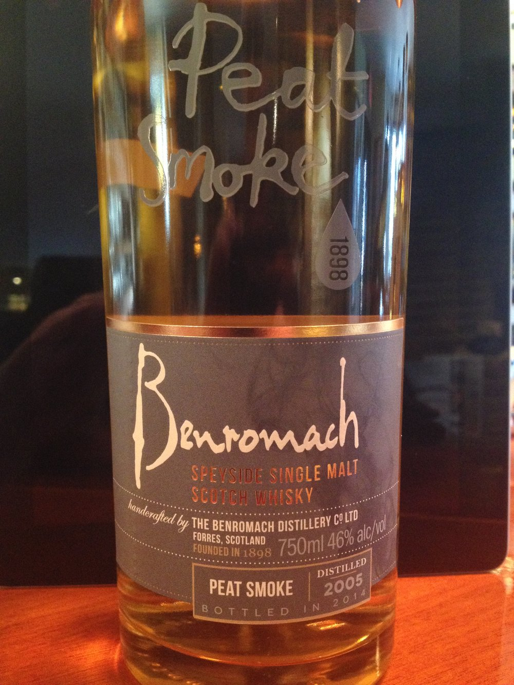 9 Year Old   46% ABV - Distillery   Benromach