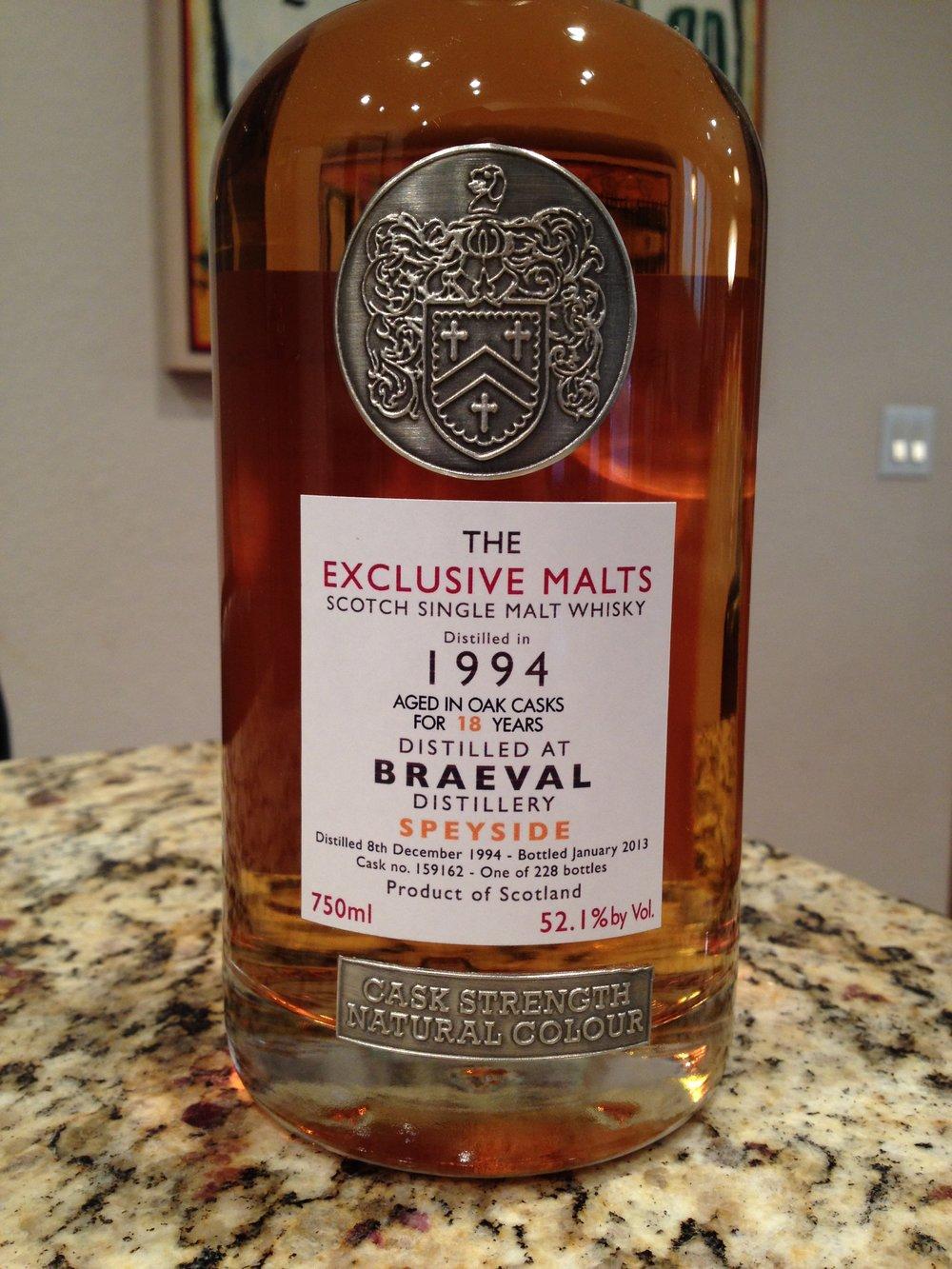 18 Year Old | 52.1% ABV - Distillery | Braeval
