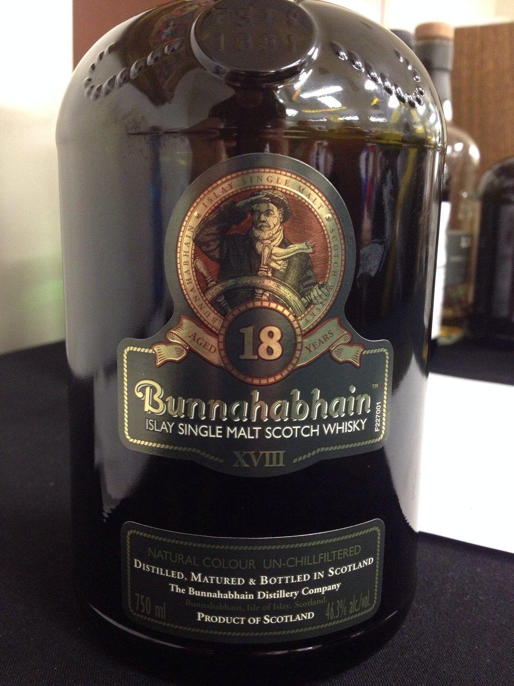 18 Year Old | 46.3% ABV - Distillery | Bunnahabhain
