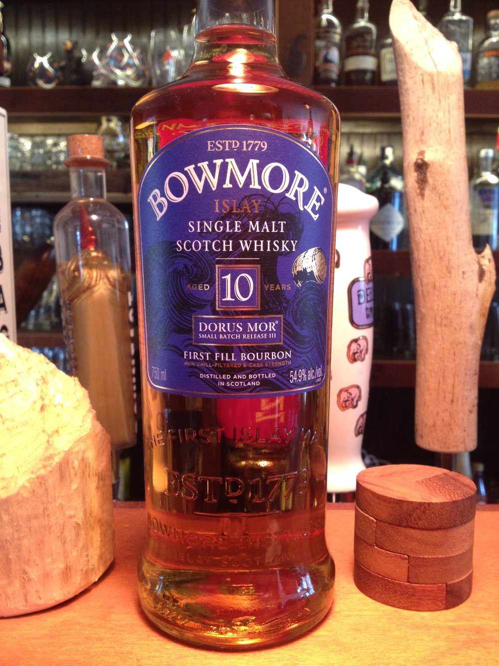 10 Year Old | 54.9% ABV - Distillery | Bowmore