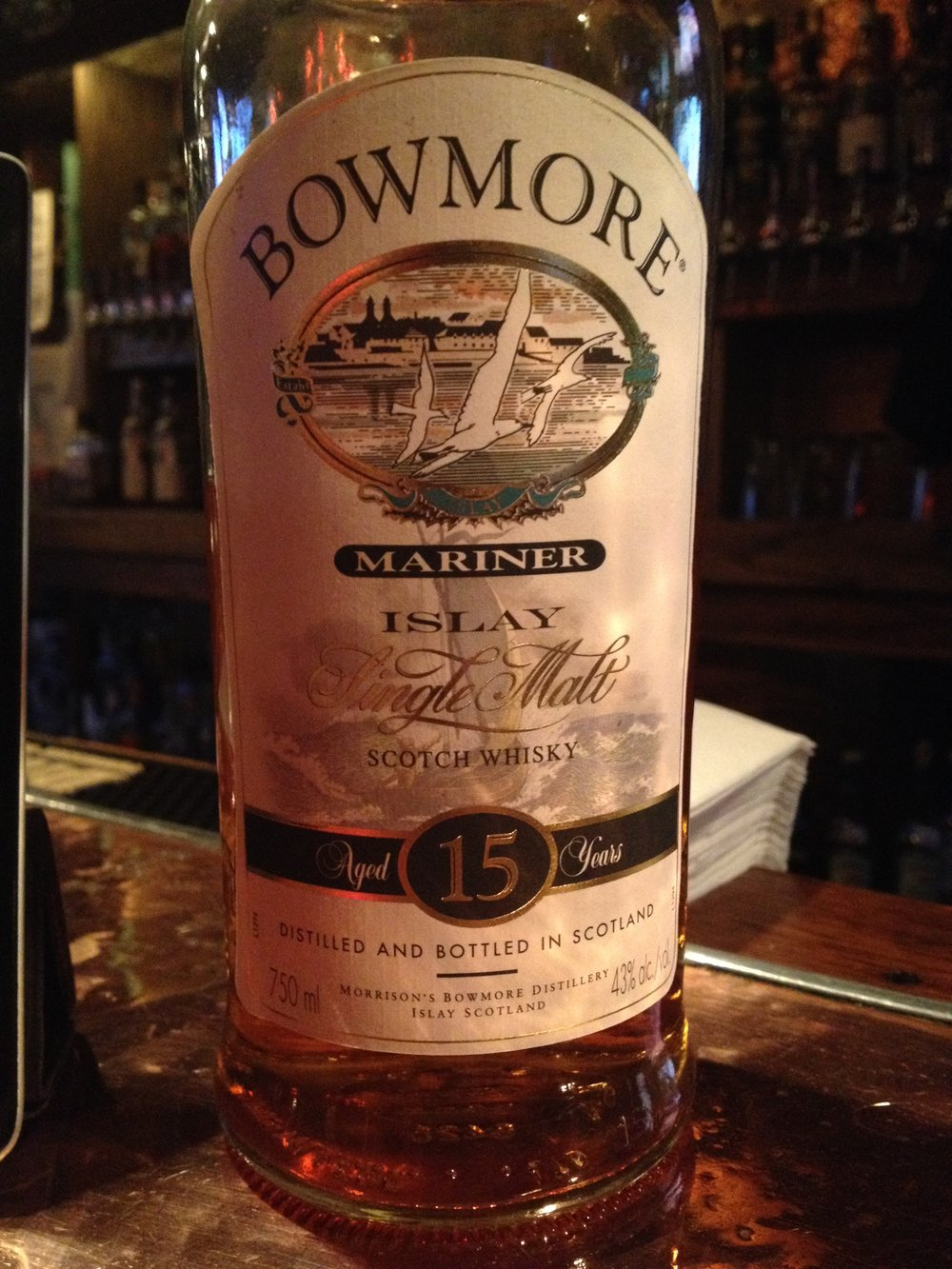 15 Year Old | 43% ABV - Distillery | Bowmore