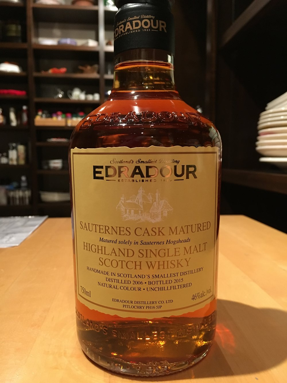 9 Year Old | 46% ABV - Distillery | Edradour