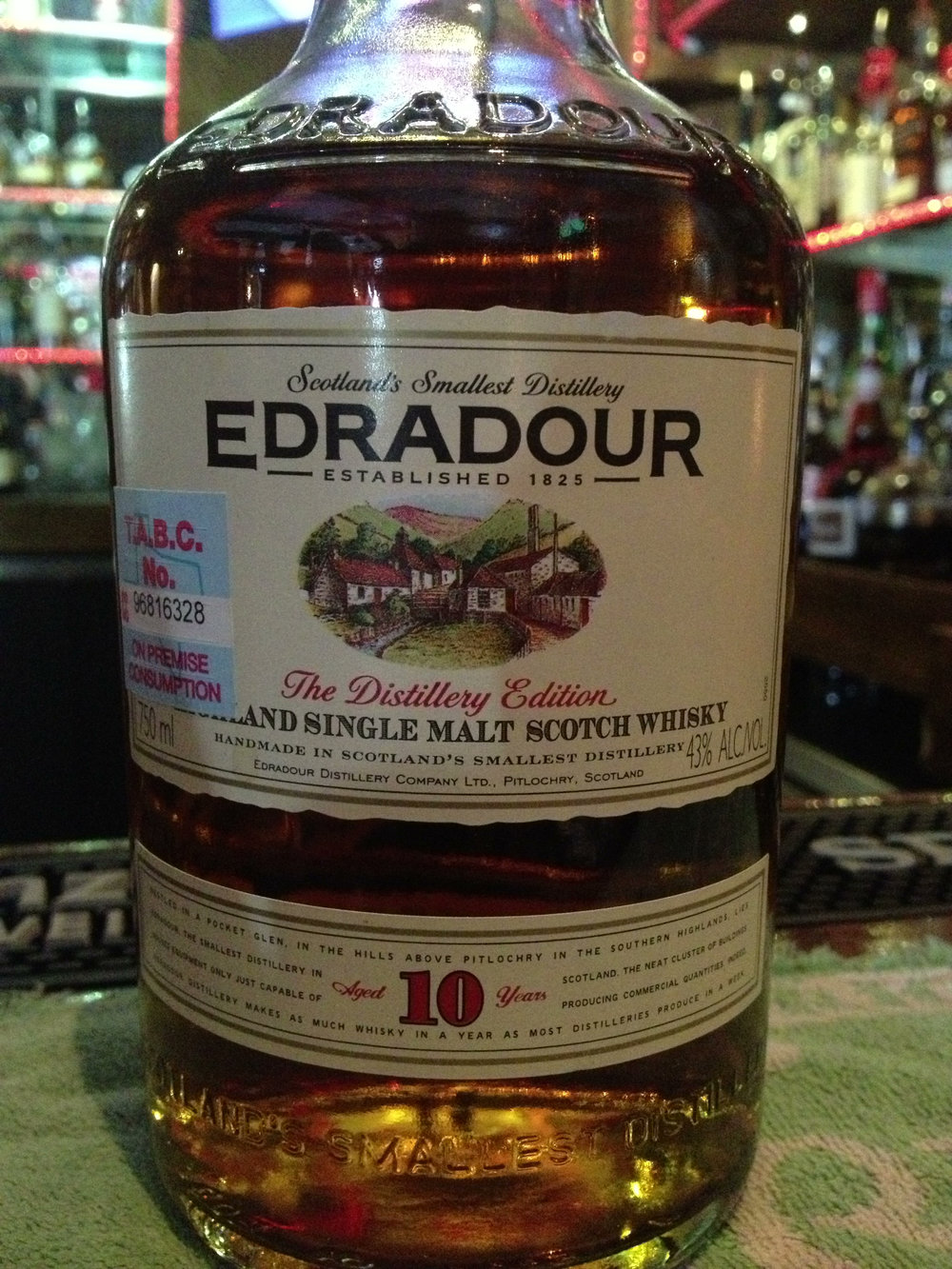 10 Year Old | 43% ABV - Distillery | Edradour