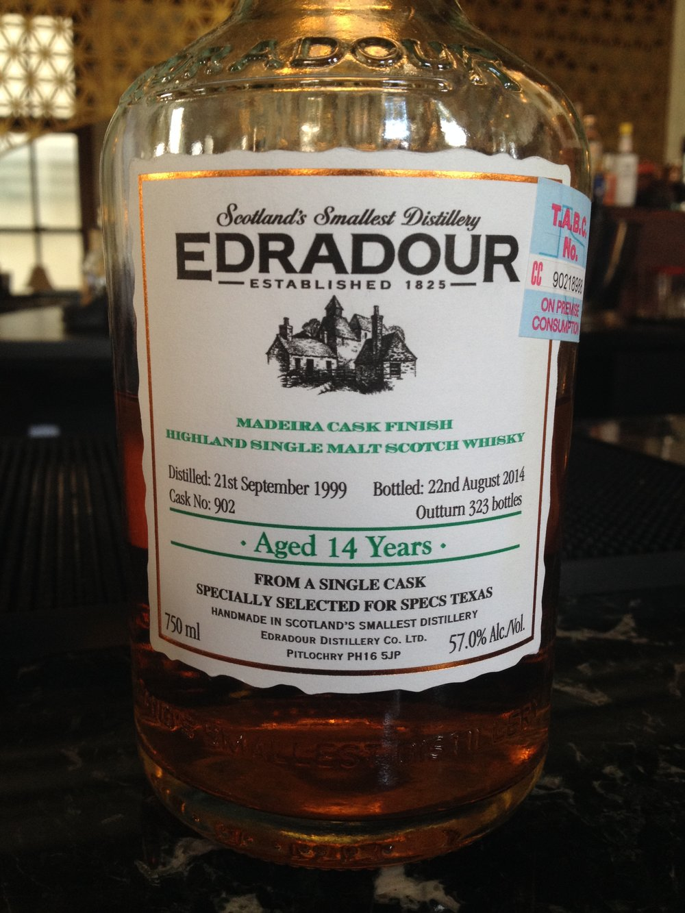 14 Year Old | 57% ABV - Distillery | Edradour
