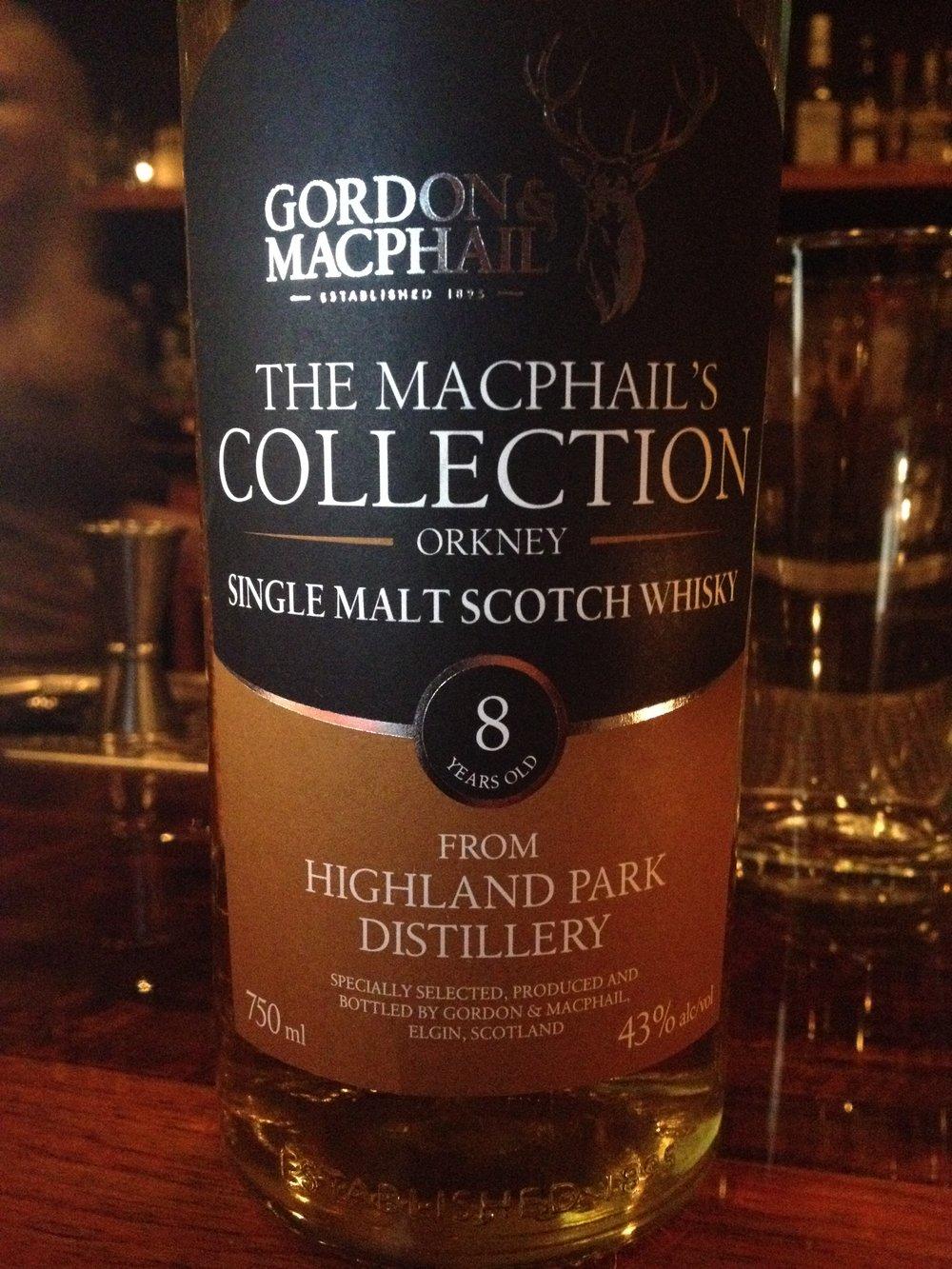 8 Year Old | 43% ABV - Distillery | Highland Park