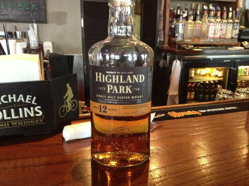 12 Year Old   43% ABV - Distillery   Highland Park