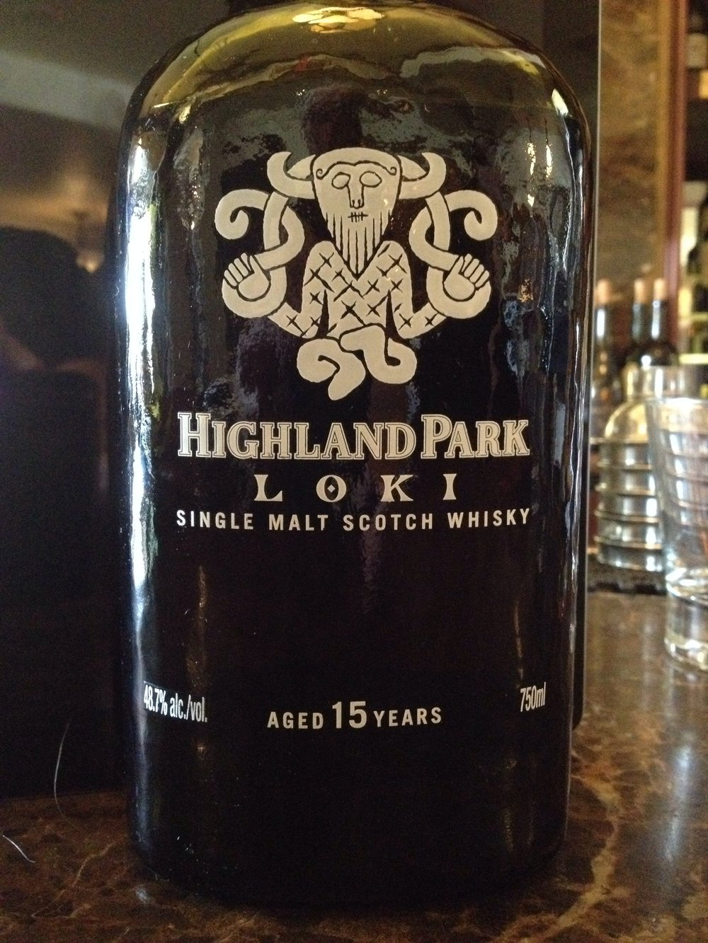 15 Year Old   48.7% ABV - Distillery   Highland Park