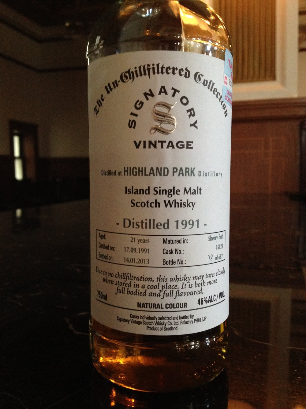 21 Year Old | 46% ABV - Distillery | Highland Park