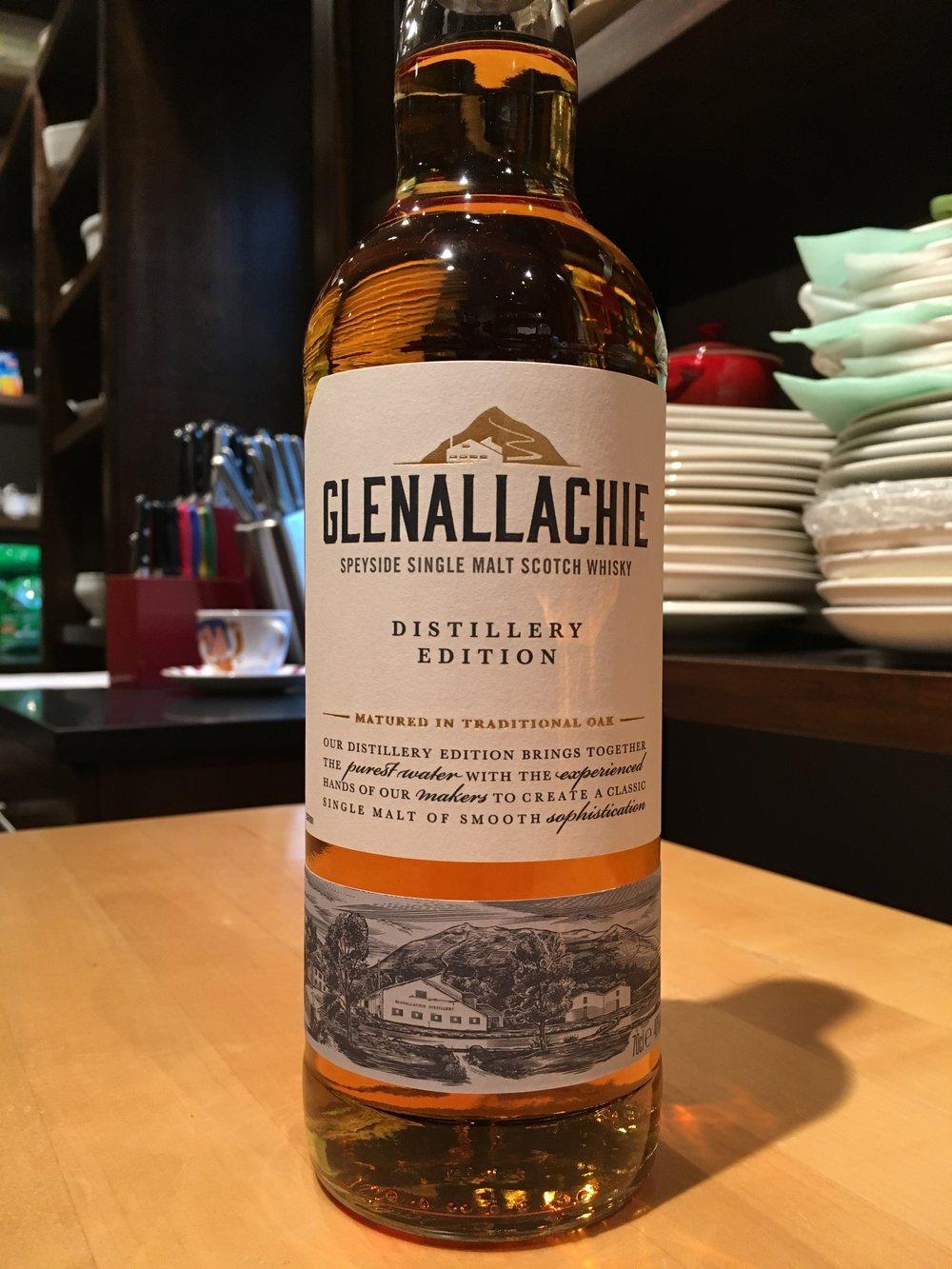 NAS   40% ABV - Distillery   Glenallachie