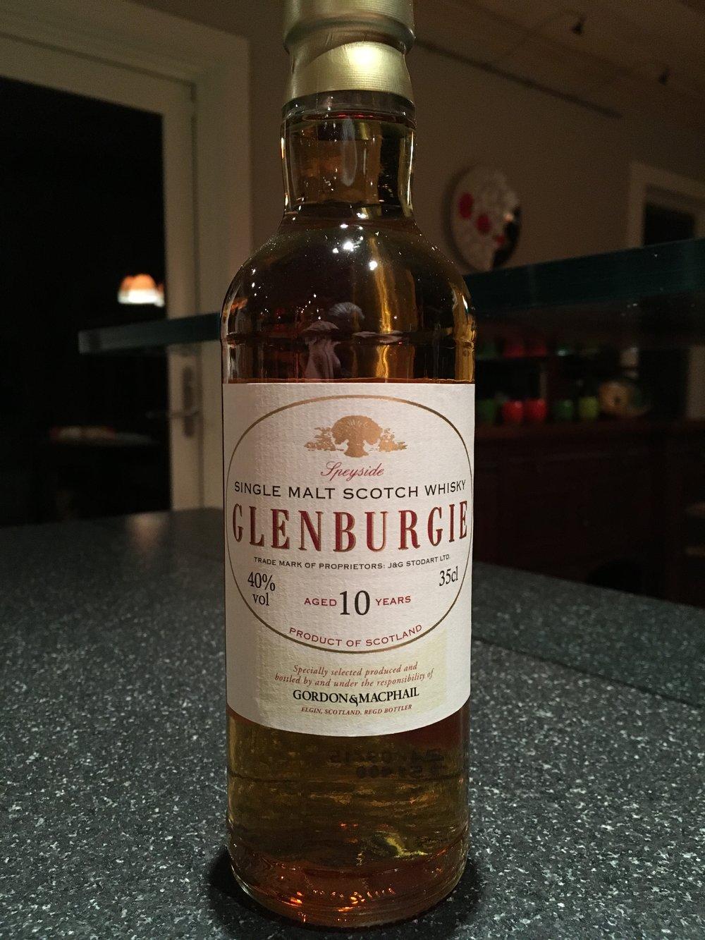 10 Year Old | 40% ABV - Distillery | Glenburgie