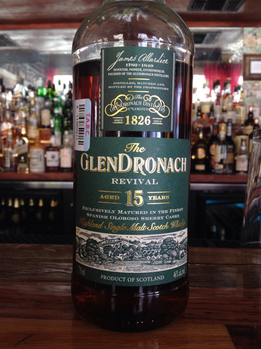 15 Year Old | 46% ABV - Distillery | GlenDronach