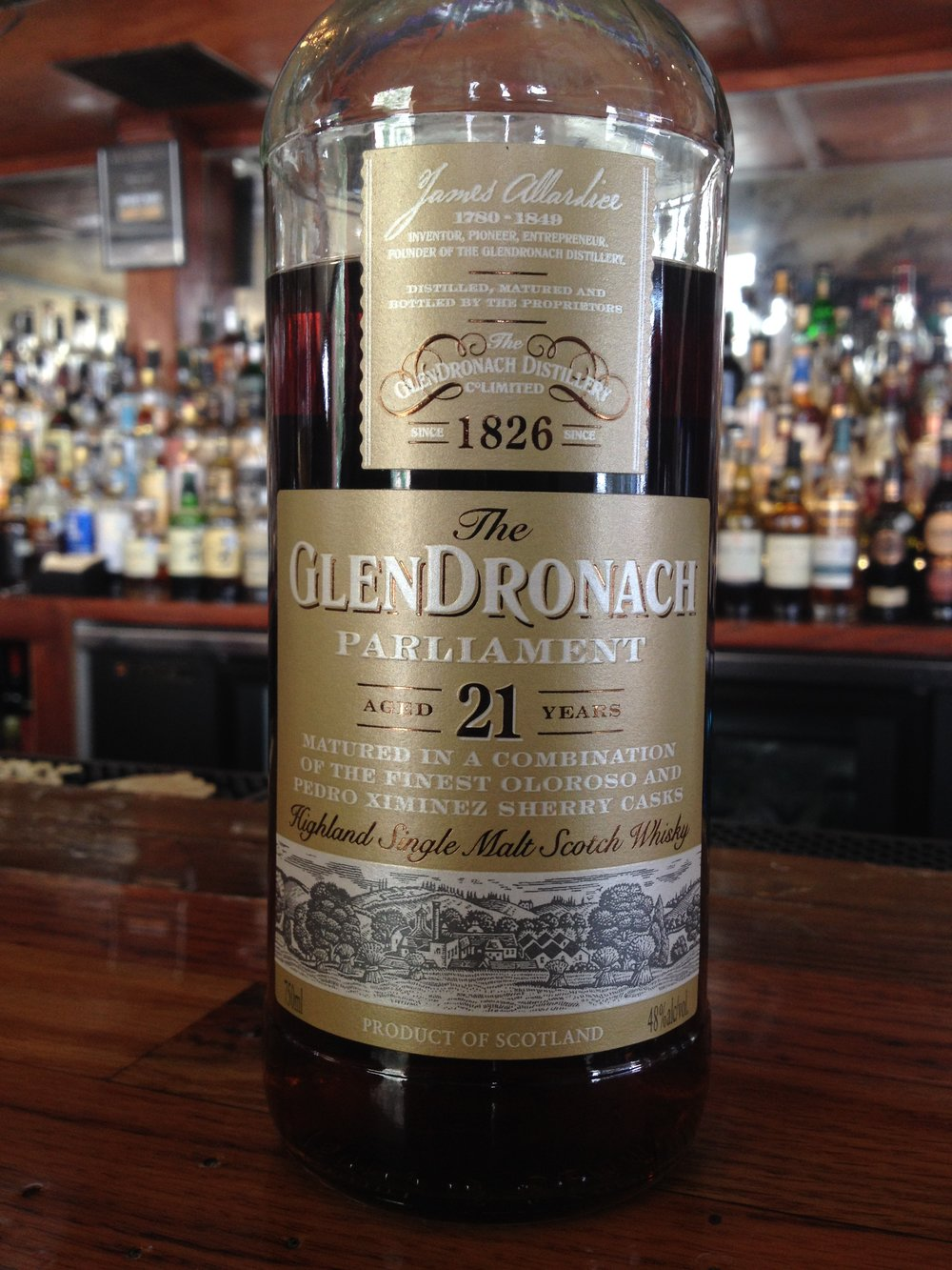 21 Year Old | 48% ABV - Distillery | GlenDronach