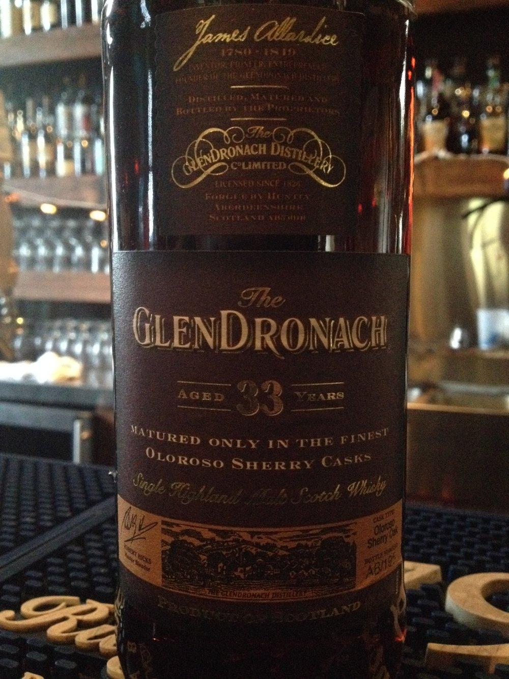 33 Year Old | 40% ABV - Distillery | GlenDronach