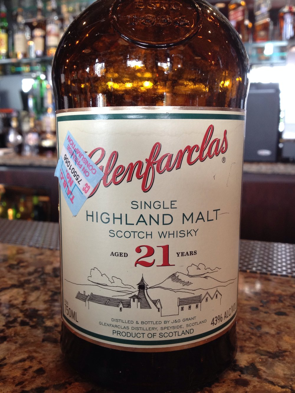 21 Year Old | 43% ABV - Distillery | Glenfarclas
