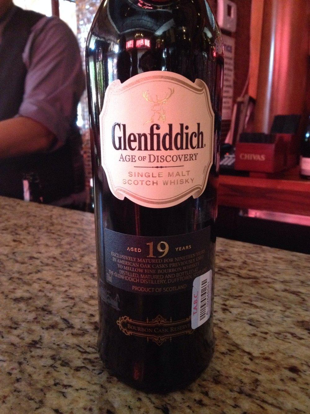 19 Year Old   40% ABV - Distillery   Glenfiddich