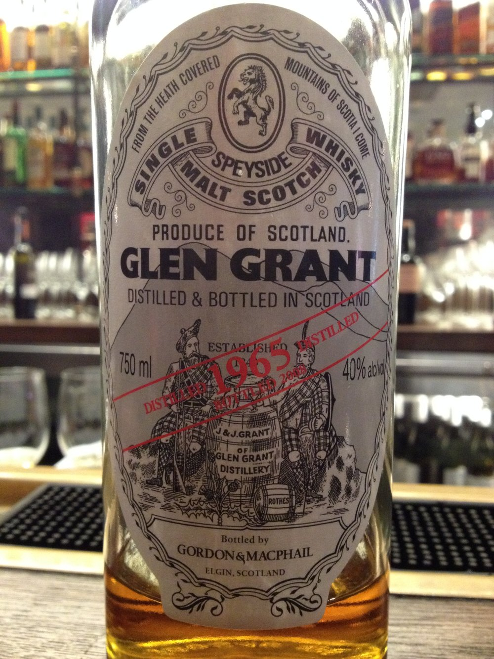 42 Year Old | 40% ABV - Distillery | Glen Grant