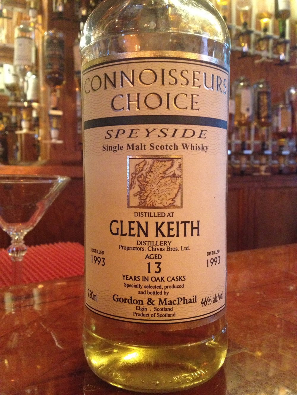 13 Year Old | 46% ABV - Distillery | Glen Keith