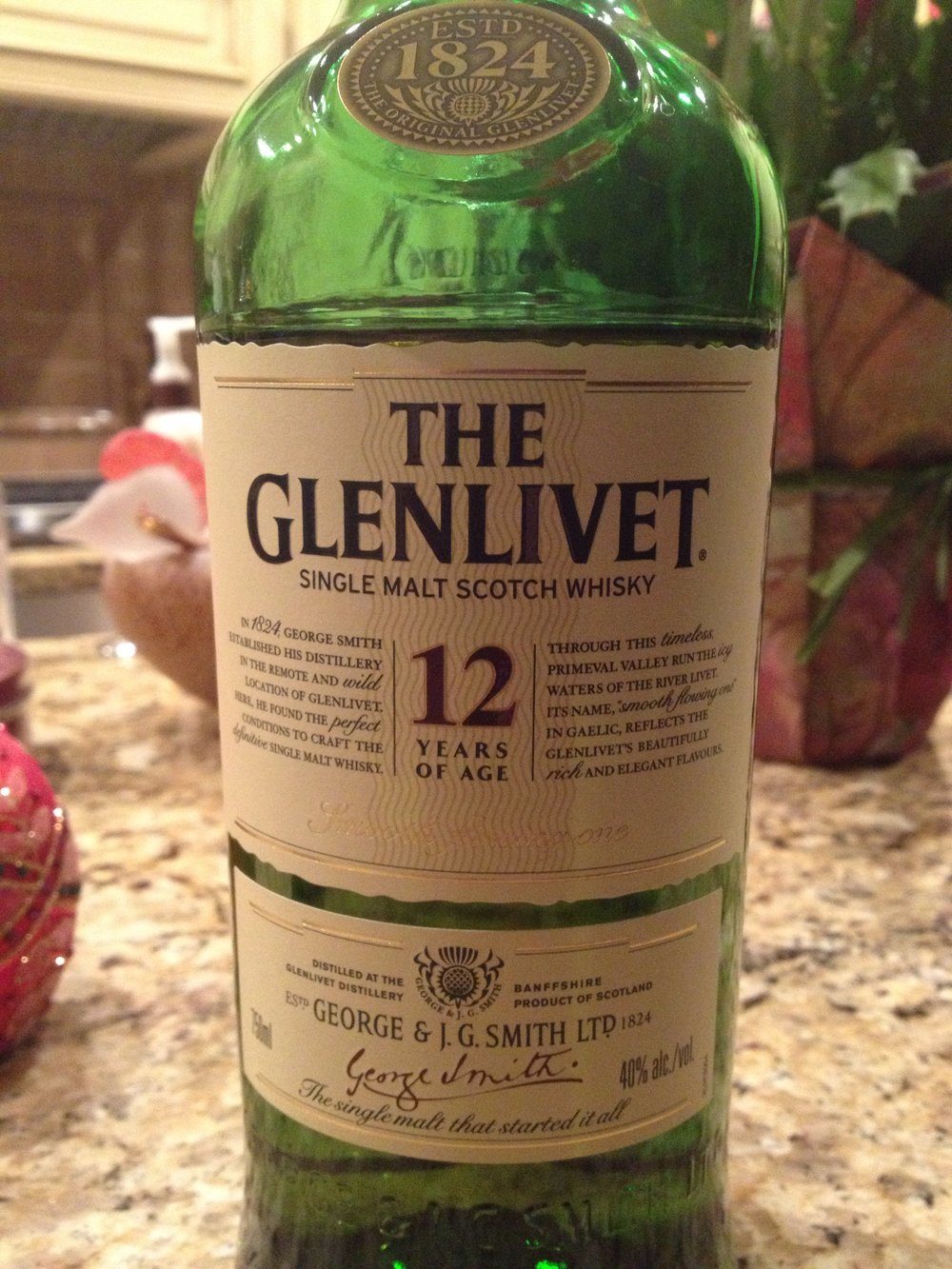 12 Year Old | 40% ABV - Distillery | Glenlivet