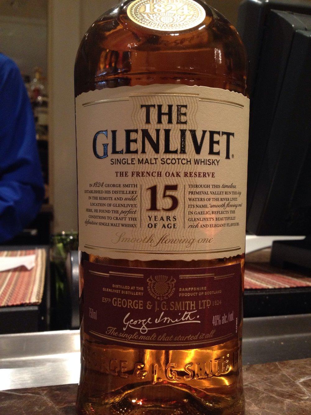 15 Year Old | 40% ABV - Distillery | Glenlivet