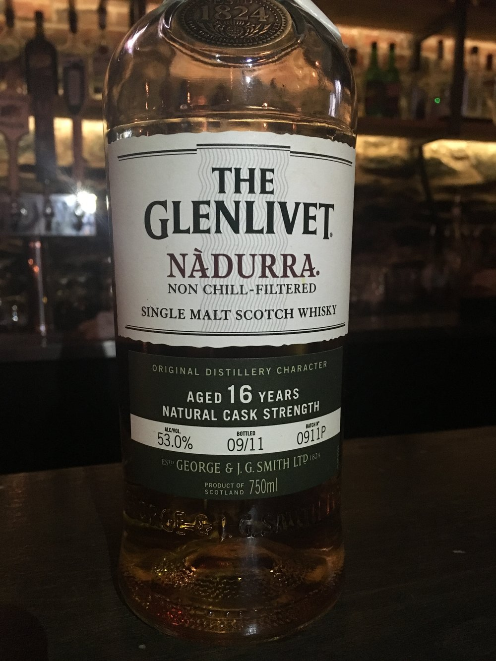 16 Year Old | 53% ABV - Distillery | Glenlivet
