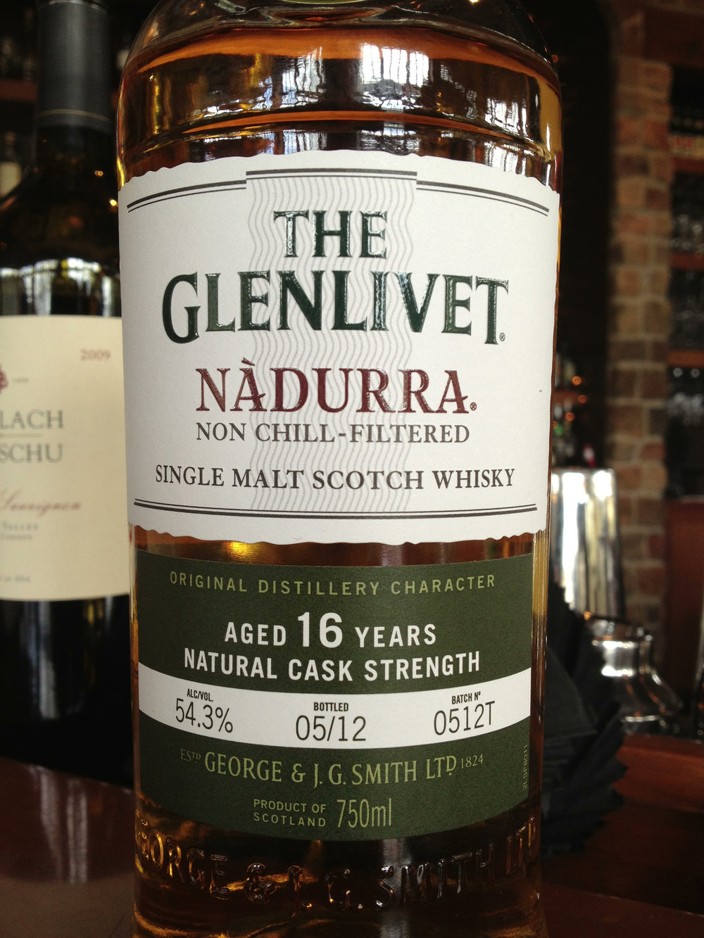 16 Year Old | 54.3% ABV - Distillery | Glenlivet