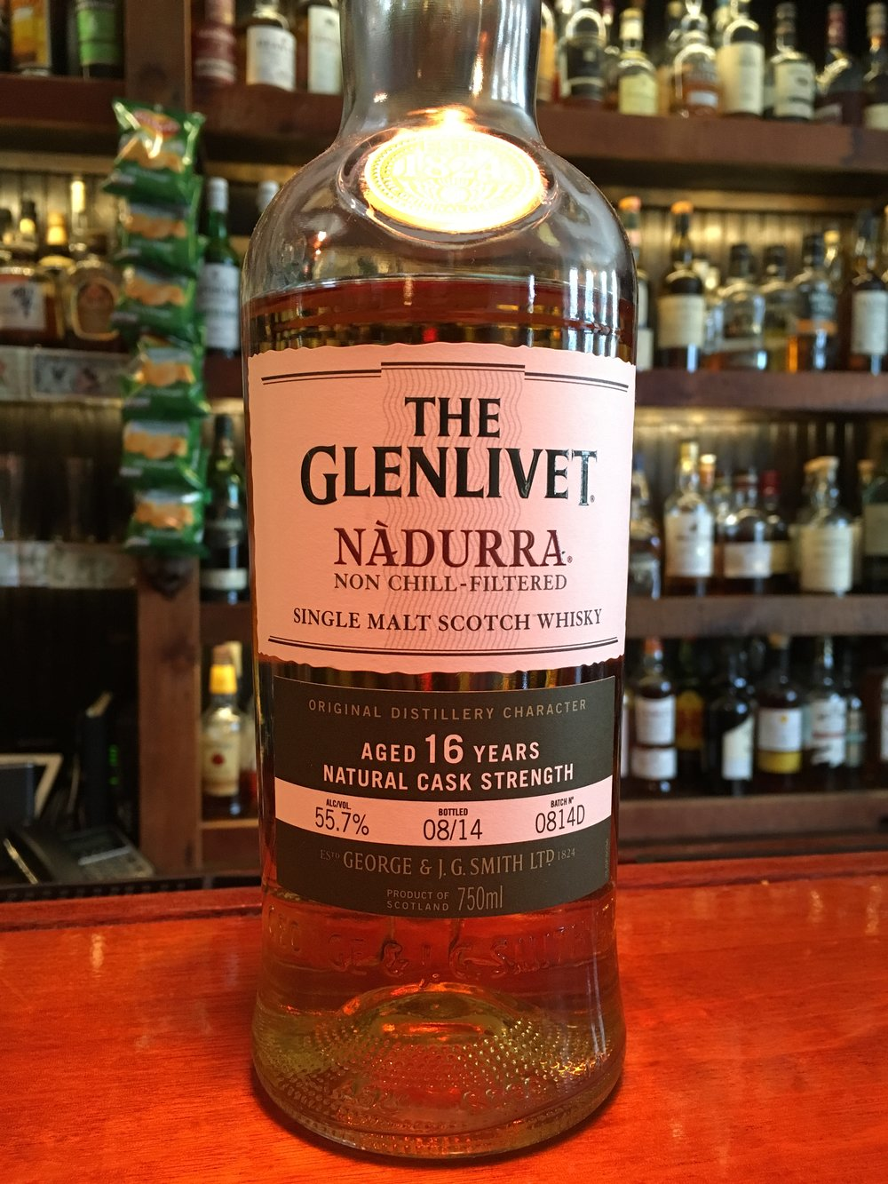 16 Year Old | 55.7% ABV - Distillery | Glenlivet