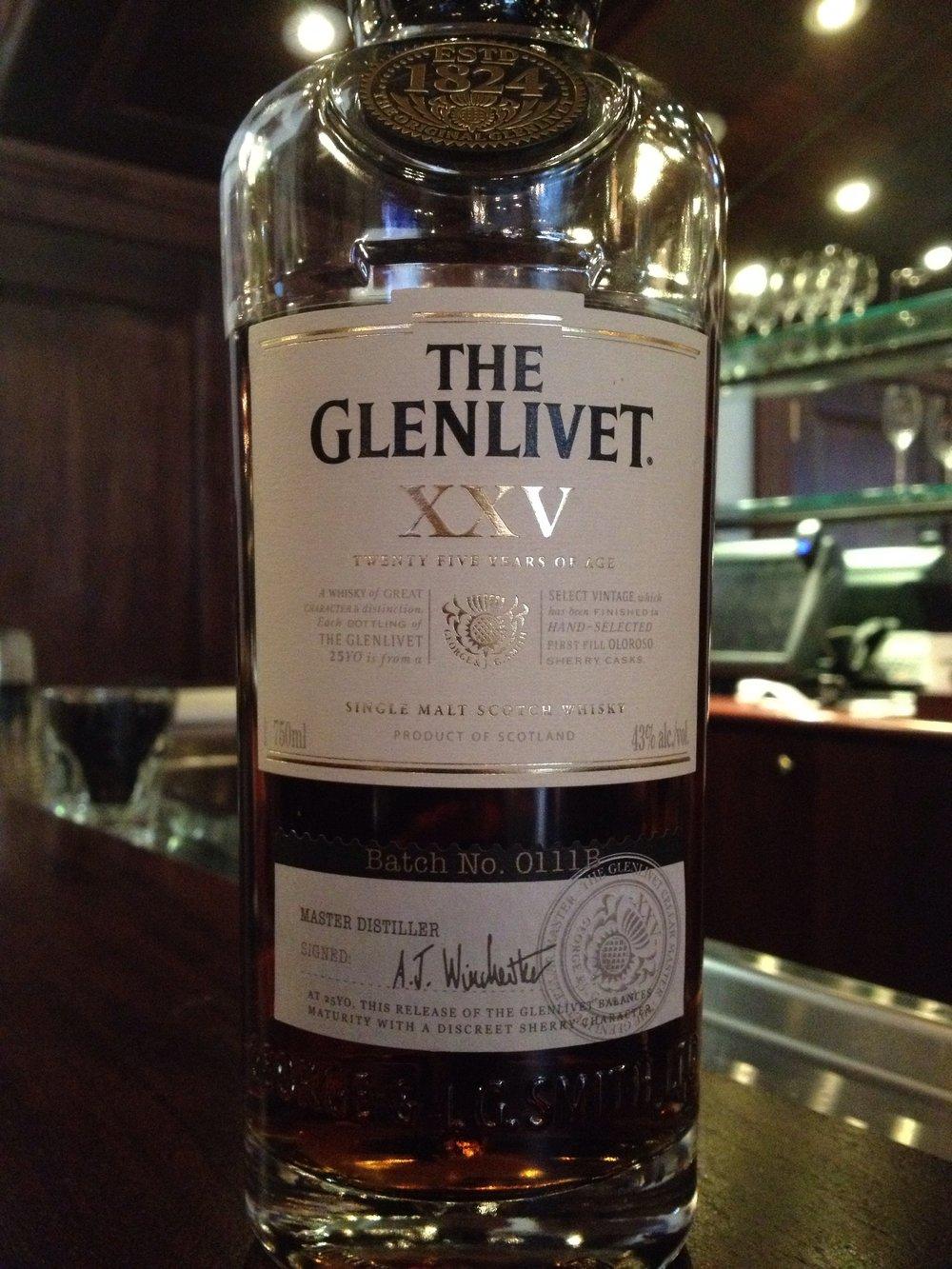 25 Year Old | 43% ABV - Distillery | Glenlivet