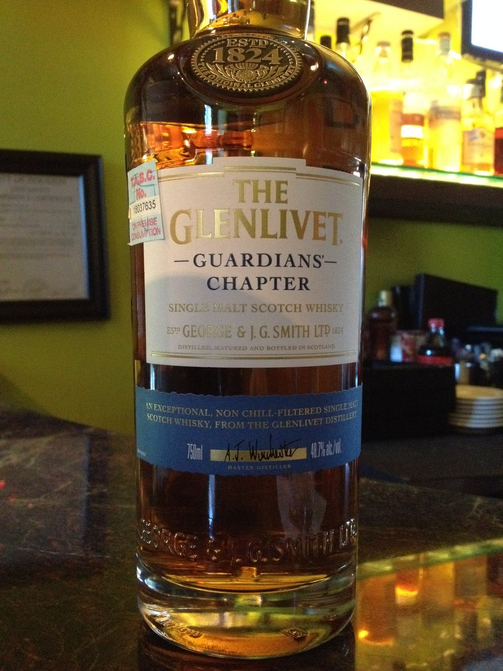 NAS | 48.7% ABV - Distillery | Glenlivet