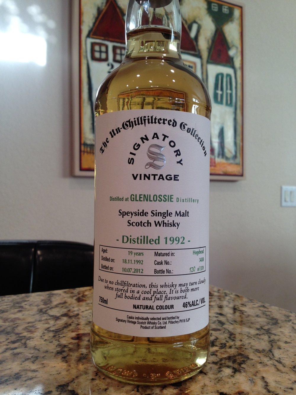 19 Year Old | 46% ABV - Distillery | Glenlossie
