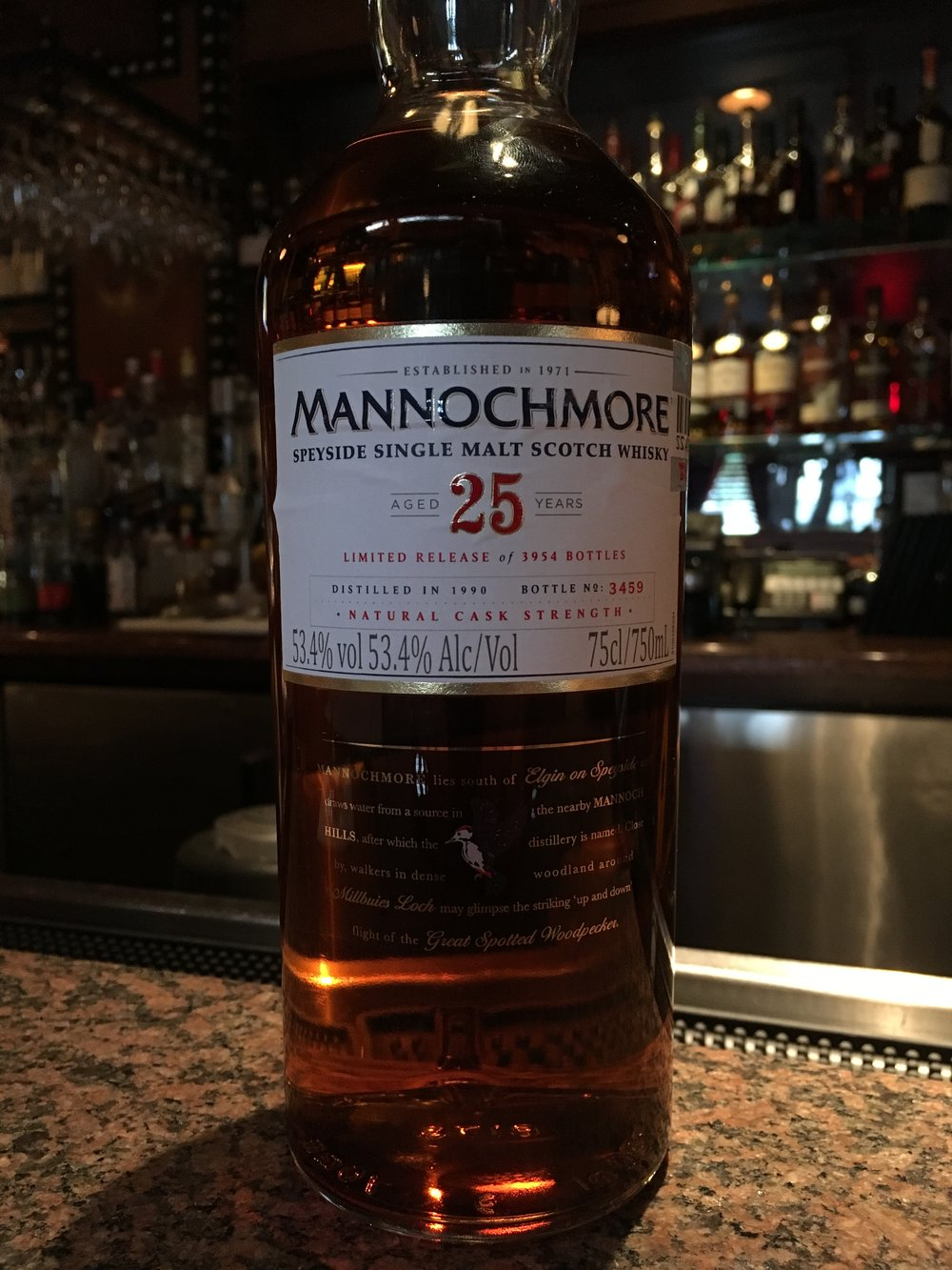 25 Year Old | 53.4% ABV - Distillery | Mannochmore