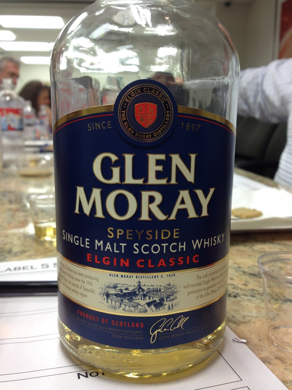 NAS | 40% ABV - Distillery | Glen Moray