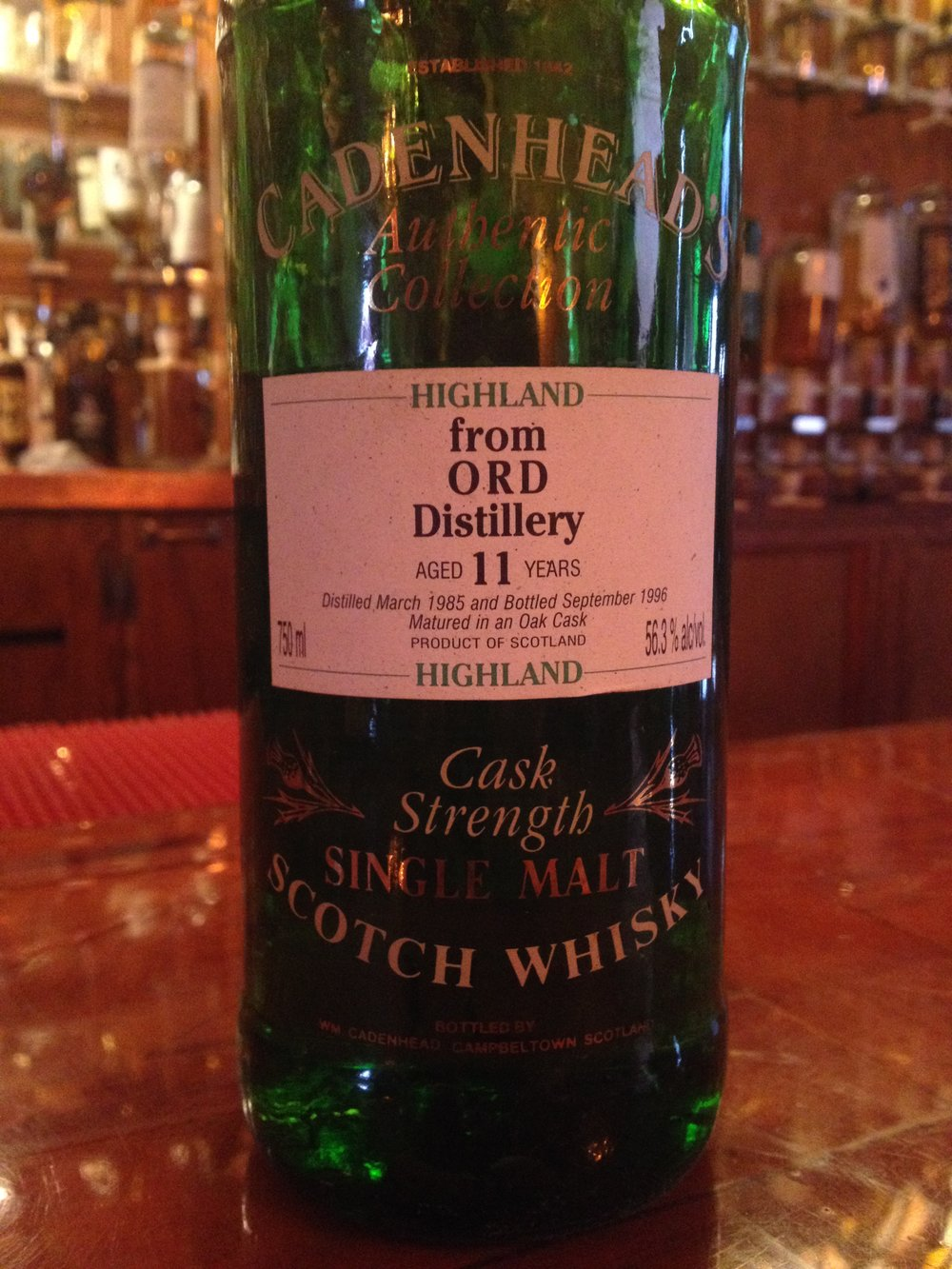 11 Year Old | 56.3% ABV - Distillery | Glen Ord