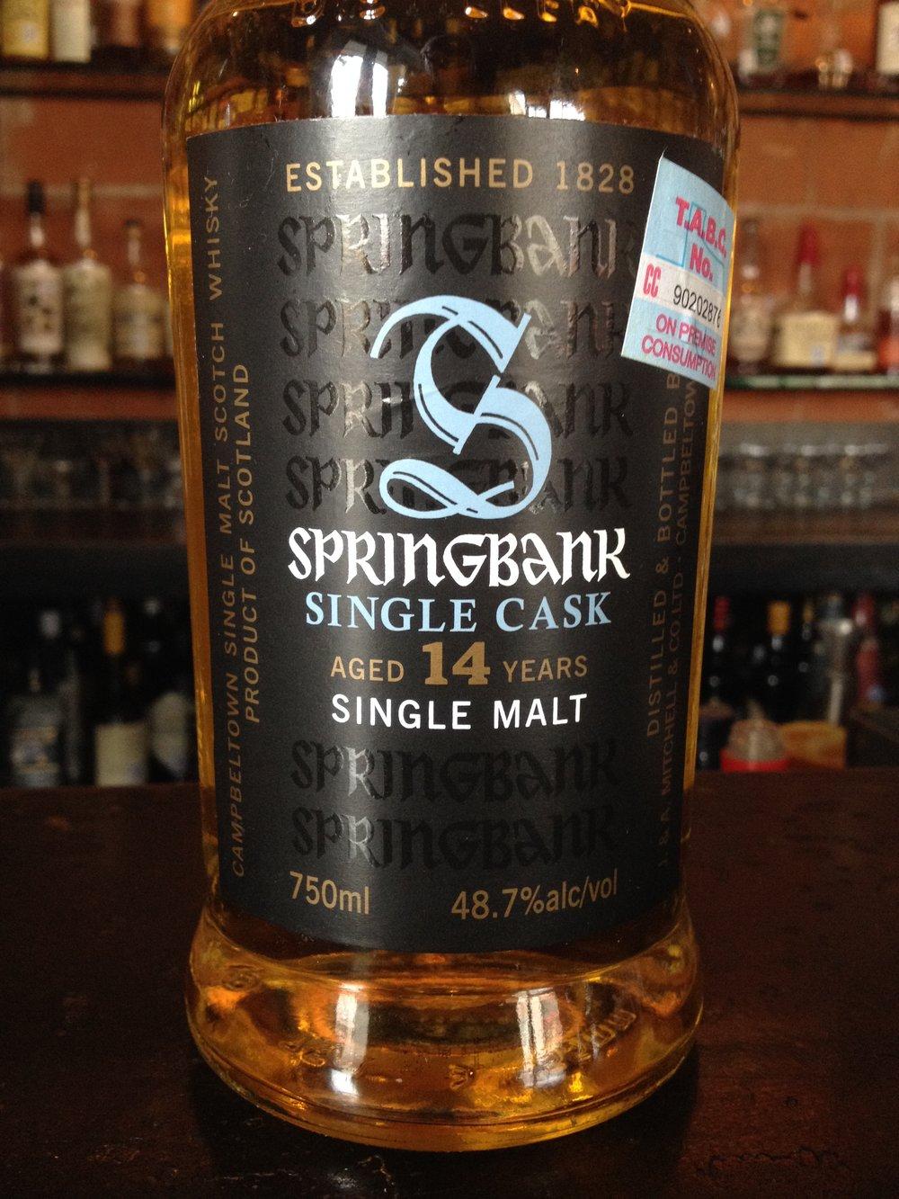 14 Year Old | 48.7% ABV - Distillery | Springbank