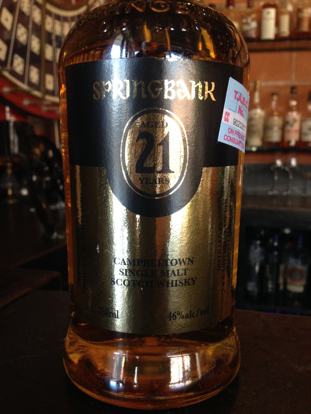 21 Year Old | 46% ABV - Distillery | Springbank