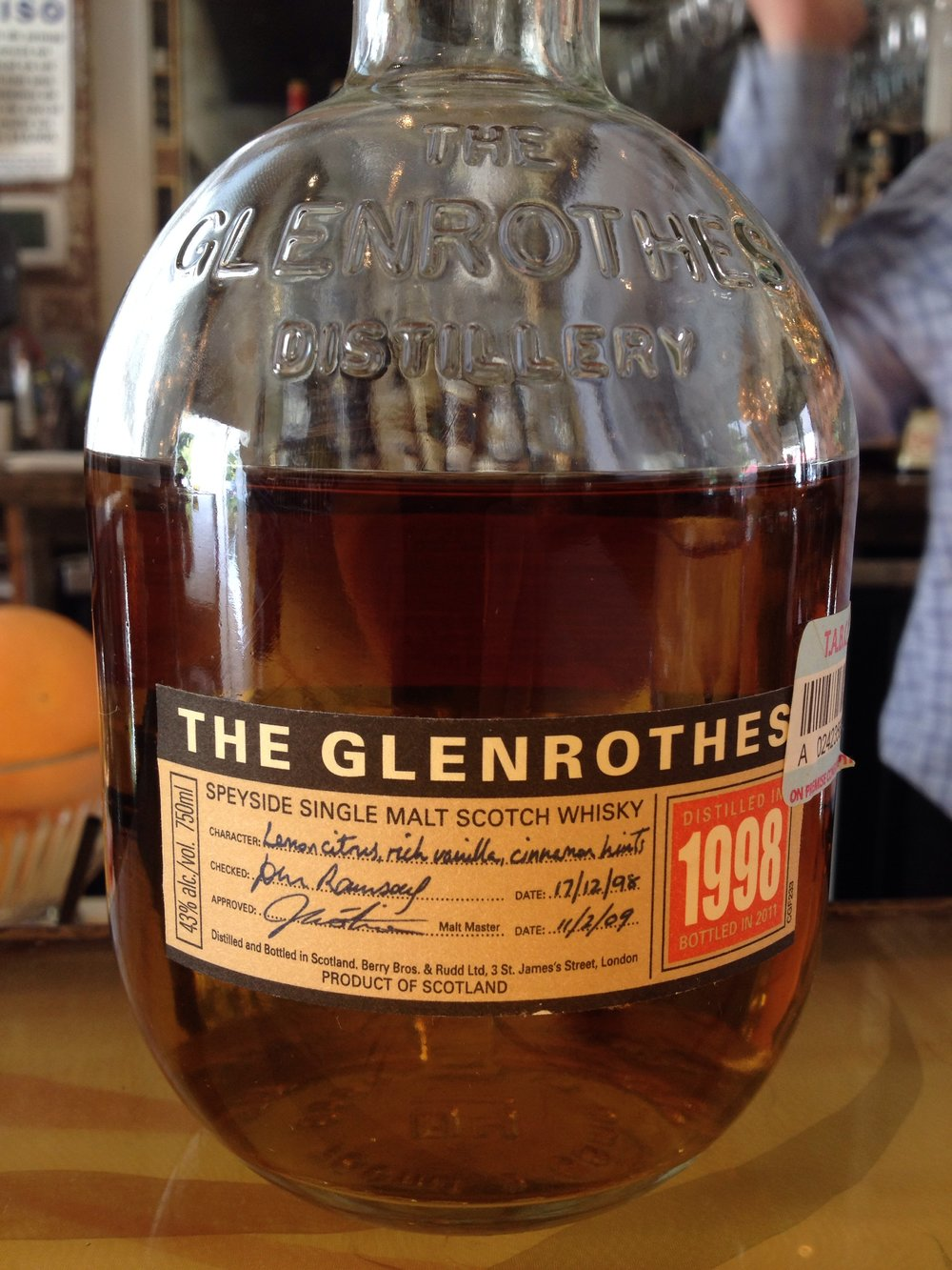 13 Year Old | 43% ABV - Distillery | Glenrothes