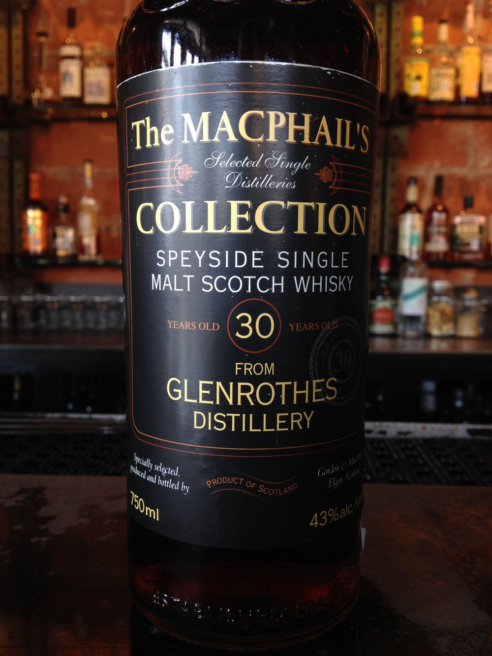 30 Year Old | 43% ABV - Distillery | Glenrothes