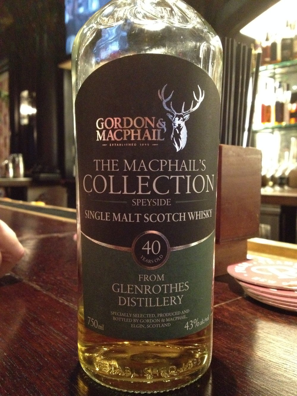 40 Year Old | 43% ABV - Distillery | Glenrothes