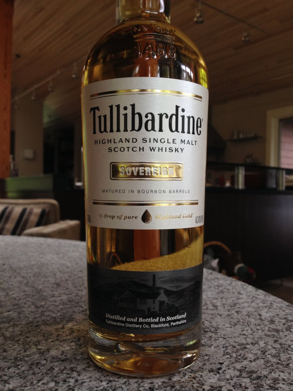 NAS | 43% ABV - Distillery | Tullibardine