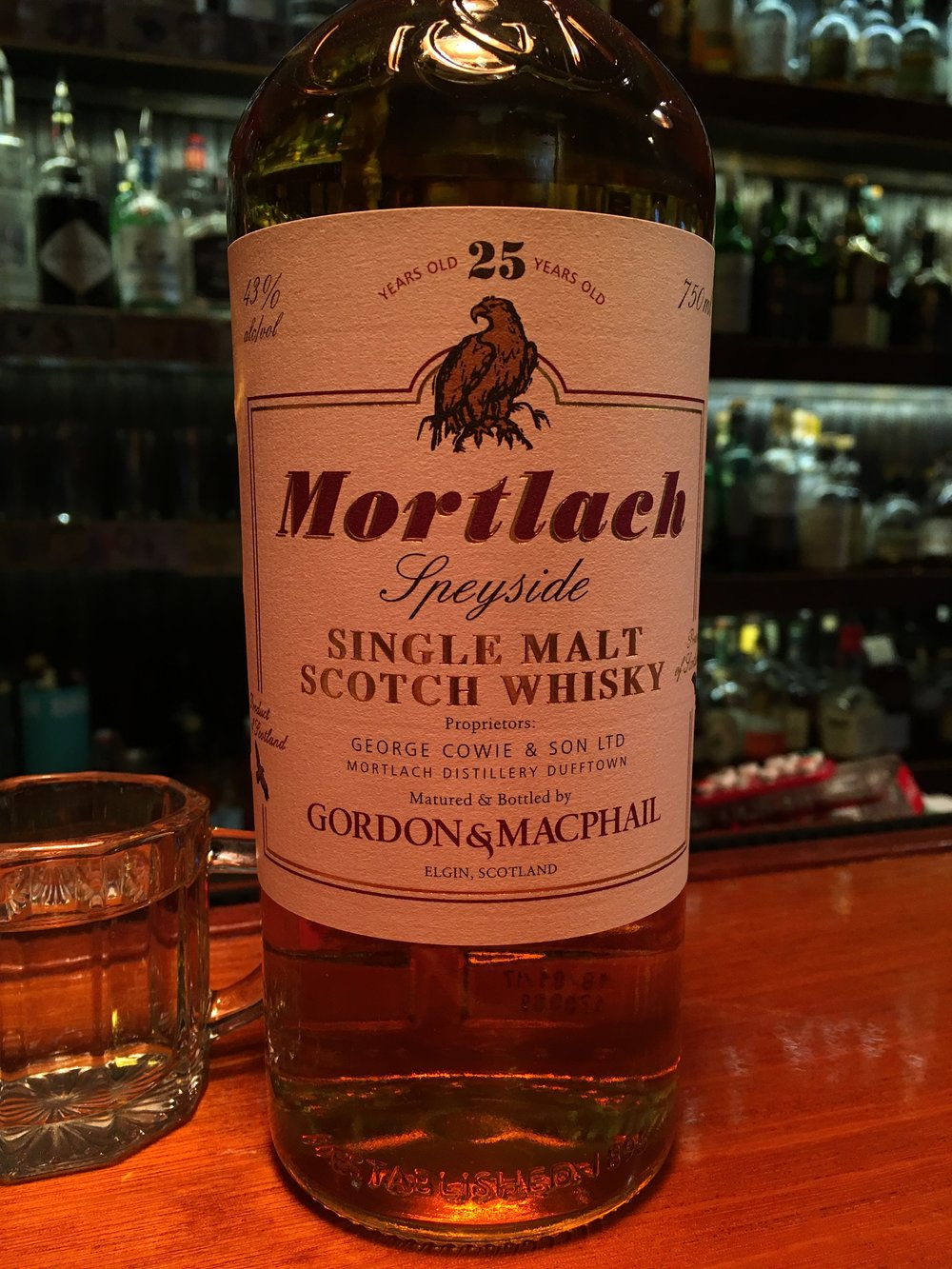 25 Year Old | 43% ABV - Distillery | Mortlach