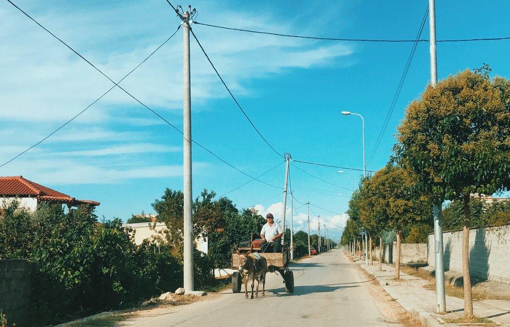Countryside village near Apollonia