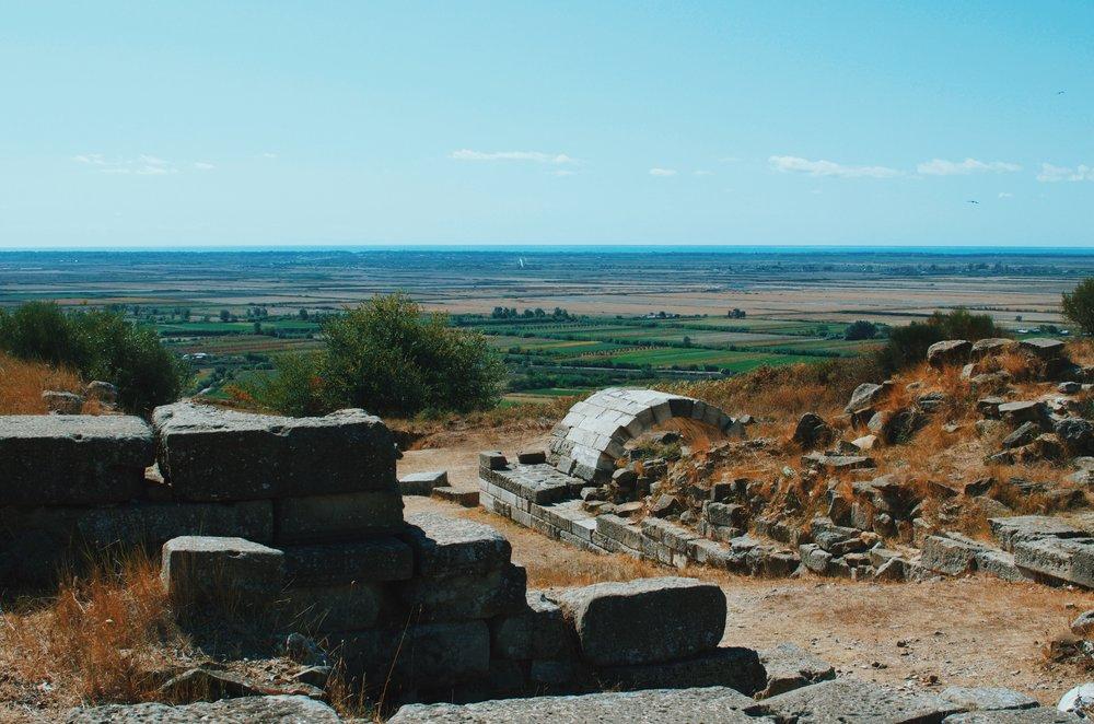 Archeological Site in Apollonia, Albania