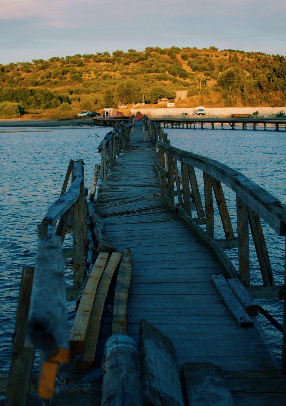Bridge to the Zvërnec Islands, Albania