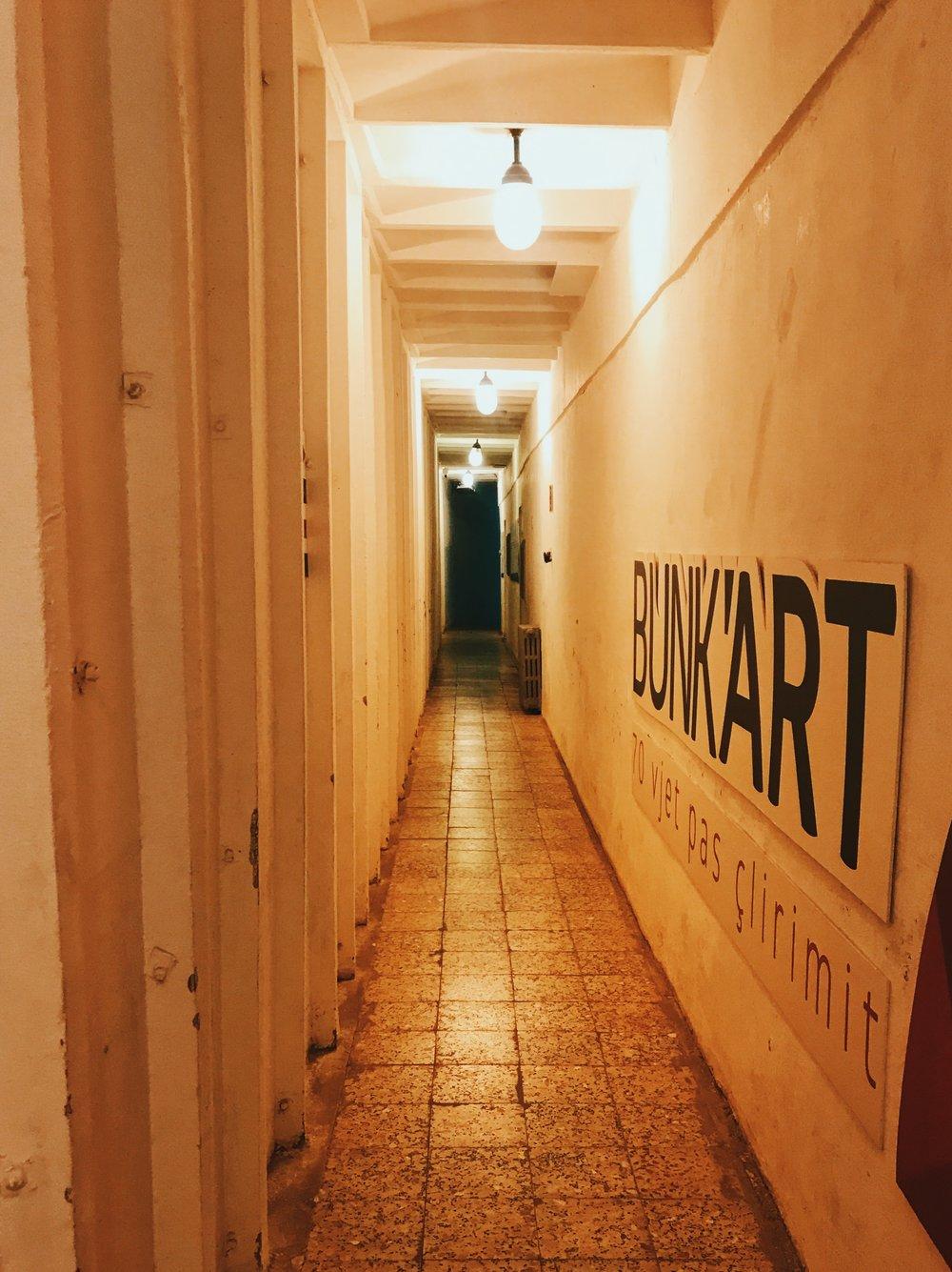 Inside Bunk'Art 1