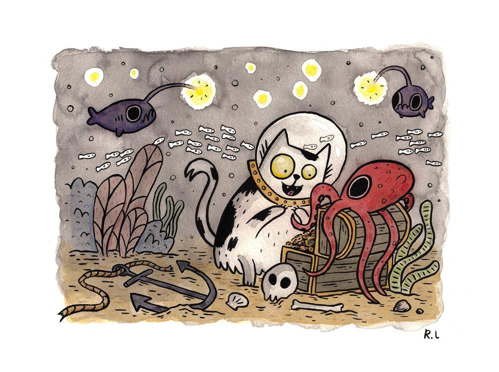 rachel logan illustration diving cat deep sea.jpg